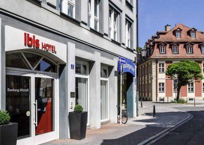 Ibis Bamberg Altstadt Eingang