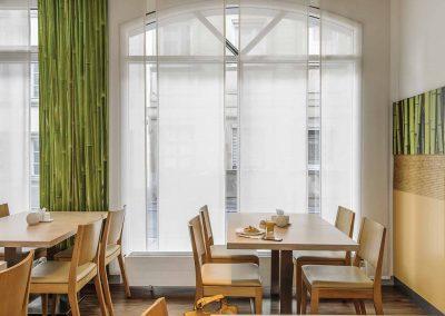 Ibis Bamberg Altstadt Restaurant Tische Fensteransicht